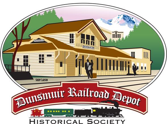 Dunsmuir Railroad Depot Historical Society Logo
