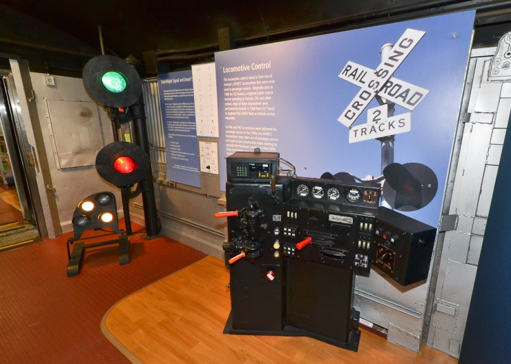 Signals and Loco Stand