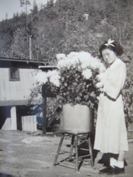 Mitzi in Dunsmuir